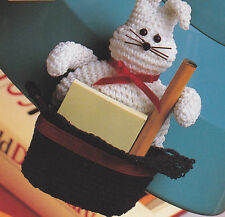 Crochet Pattern ~ ABRACADABRA Bunny/Hat Toy ~ Instructions