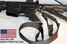 End Plate Sling Adapter Mount + Single One Point Tactical Bungee Sling AR15 M4