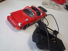 New Bright (Hong Kong) Red Porsche 930 Targa Plastic/Electric 1:20