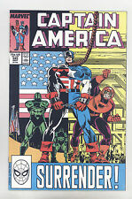 Captain America #345 NM+ Frenz, Milgrom, Falcon, D-Man