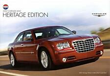 Old Print. Inferno Red Crystal Pearl 2007 Chrysler 300C Heritage Edition Auto Ad