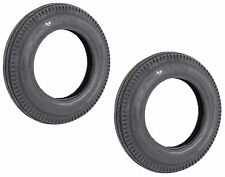 """Two Trailer Tires For Utility Cart ATV Lawn 4.80-12 480-12 4.8"""" X 12"""" Load B"""