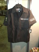 BLACK VICTORY MOTORCYCLE WOMEN'S SHOW SHIRT NWT