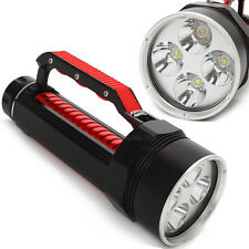 Scomparto Professionale Diving 4xCREE XML L2 LED 6800L Torcia subaquea