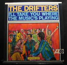 The Drifters - I'll Take You Where The Music's Playing LP Mint- 8133 1st Record
