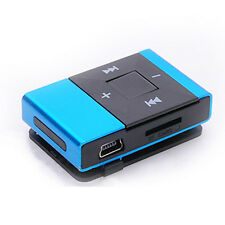 New Portable Mini USB Clip Digital Mp3 Music Player Support 8GB SD TF Card Hot
