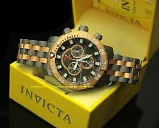 14261 Invicta 53mm Sea Base Swiss Chronograph Retro Day Titanium Bracelet Watch