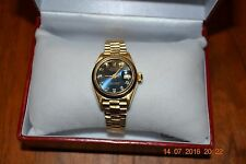 Rolex Gold Oyster Perpetual Lady Datejust ** Minimal Use ** Huge Discount