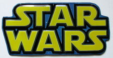 Starwars Die Cut Metal Logo Sign Star Wars Movie Luke Skywalker