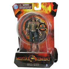 Mortal Kombat Classic Ninja Nightwolf Action Figure NEW Vintage Action Detailed