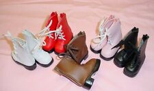 Monique Gold WHITE 63mm Classy Boots fit Kaye Wiggs Layla, MSD