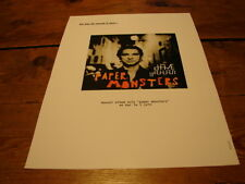 DEPECHE MODE - DAVE GAHAN PAPER MONSTER!!!!!!!RARE FRENCH PROMO ADVERT