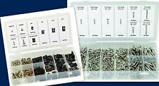 490 STAINLESS STEEL SCREW & U-CLIP W/ SCREWS ASSORTMENT INTERIOR EXTERIOR USES