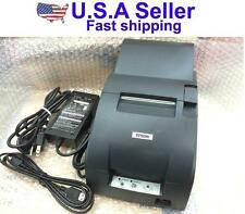 Epson TM-U220A M188A Dot Matrix USB POS Receipt Printer With Cable & Pwr Adapter