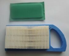 3 X Air filters & prefilters Briggs and Stratton 10 11 12 12.5HP 698413 797007 +
