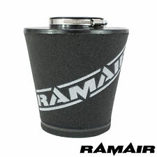 RAMAIR LARGE 80MM NECK UNIVERSAL CAR CONE FOAM AIR FILTER FOR INDUCTION KITS