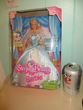 """1998  """" SLEEPING BEAUTY """" BARBIE Doll  in Box NEVER REMOVED"""