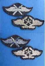 2 Armabzeichen  Wehrmacht Luftwaffe Flugzeugpersonal / fliegendes Personal