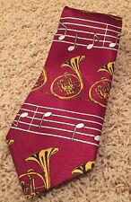 Vintage Renaissance Music Notes French Horn Scale Orchestra