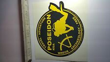 Decal Sticker Dive Club POSEIDON