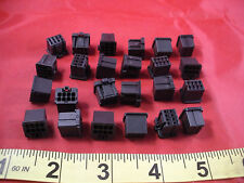 Tyco 1-1827864-4 Lot of (24) Connector Housing 8P Black AMP Dynamic 1200D New