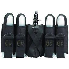Tippmann Sport Series Paintball Pack / Harness - 4+1 Pouch Vertical - Black
