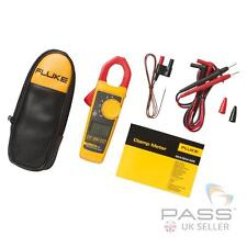 Genuine Fluke 324 True RMS pinza amperometrica-AC Current, AC / DC Tensione + ACCESSORI