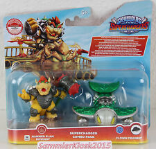 Hammer Slam Bowser & Clown Crusher - Skylanders SuperChargers Combo Pack Neu