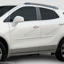 For: BUICK ENCORE; PAINTED Body Side Moldings Mouldings Trim 2013-2017