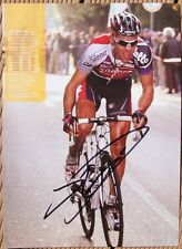 cyclisme cycling autograph philippe GILBERT feuille 20X27 signé tdf signed bmc