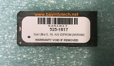 525-1817 Sun Ultra 5/10 IDPROM (NVRAM) New Battery 1 Year Warranty