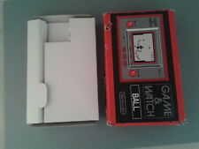 NINTENDO GAME&WATCH BALL REEDITION CLUB NINTENDO SOLO CAJA COMPLETA BOX