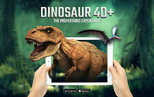 Dinosaurs 4D+ Augmented Reality Flashcards by Octagon Studio - Free App - AAAAAA