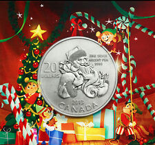 2013 $20 for $20  Santa Claus Christmas Commemorative .9999 Silver coin 1/4oz