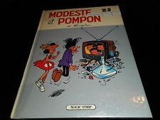 Franquin : Modeste et Pompon R3 EO Magic Strip 1981