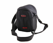 Nylon Shoulder Waist Case Bag For PENTAX Q7 with Prime Lens