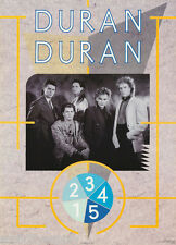 POSTER :MUSIC :  DURAN DURAN  - ALL 5 POSED - FREE SHIPPING !  #15-348  LC17 J