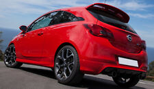 VAUXHALL CORSA E - VXR OPC LOOK SPOILER - 3 DOOR MODEL