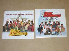 LOT 2 CD SINGLE 2 TITRES / STAR ACADEMY / JE NE SUIS PAS UN HEROS + SANTIANO