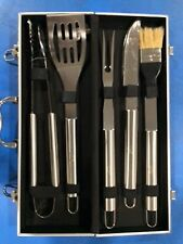BBQ tool set with Intel logo