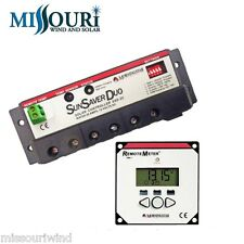 MorningStar SunSaver DUO SSD 25RM Solar Panel Boat RV Battery Charge Controller