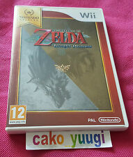 THE LEGEND OF ZELDA TWILIGHT PRINCESS NINTENDO SELECTS WII TRES BON ETAT