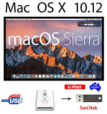 Sierra Apple MacOSX 10.12 Install&Recovery Disk Bootable USB FREE Delivery