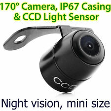 CCD Waterproof Small Night Vision Car Reverse Camera Rear View Parking Butterfly