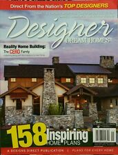 Designer Dream Homes 158 Home Plans #43 Spring 2014 FREE PRIORITY SHIPPING