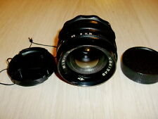 Wide angle lens Mir-1 f/2.8/37mm M42. s/n 841548 Early modification not B