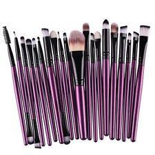 20pcs Makeup Brush Set Foundation Powder Toiletry Kit Wool Cosmetic Brushes N7