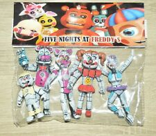 TOY MEXICAN FIGURES FUNTIME FIVE NIGHTS AT FREDDY'S ANIMATRONICS 4 in.