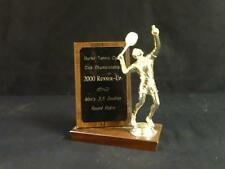 Beautiful Burke tennis club 2000 runner up men's doubles round robin figural tro