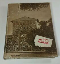 Stanford University 1947 Yearbook Supreme Court Justices O'Connor and Rehnquist